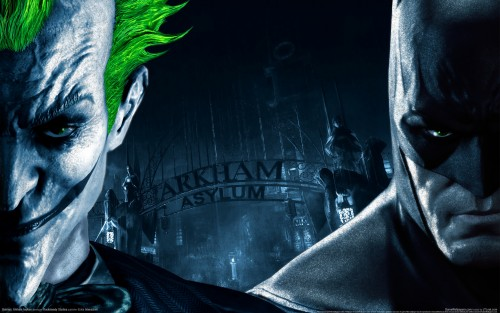 arkham asylum wallpaper