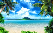 nature beach wallpaper
