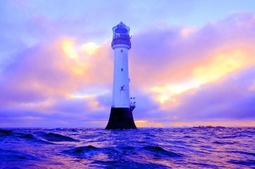 light house border wallpaper