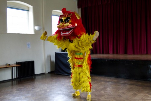 lion dance wallpaper