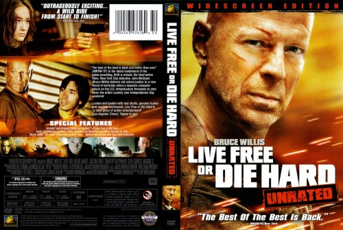 live free die hard wallpaper