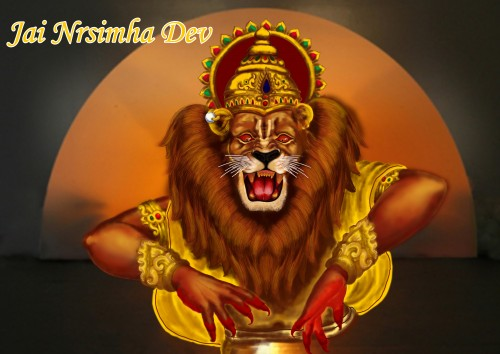lord narasimha wallpaper